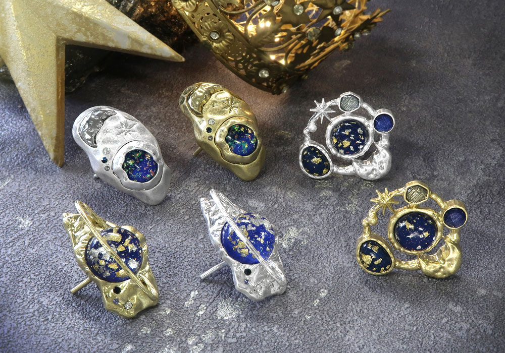 【OLGA】2019AW GALAXY COLLECTION -Planet Ornament-