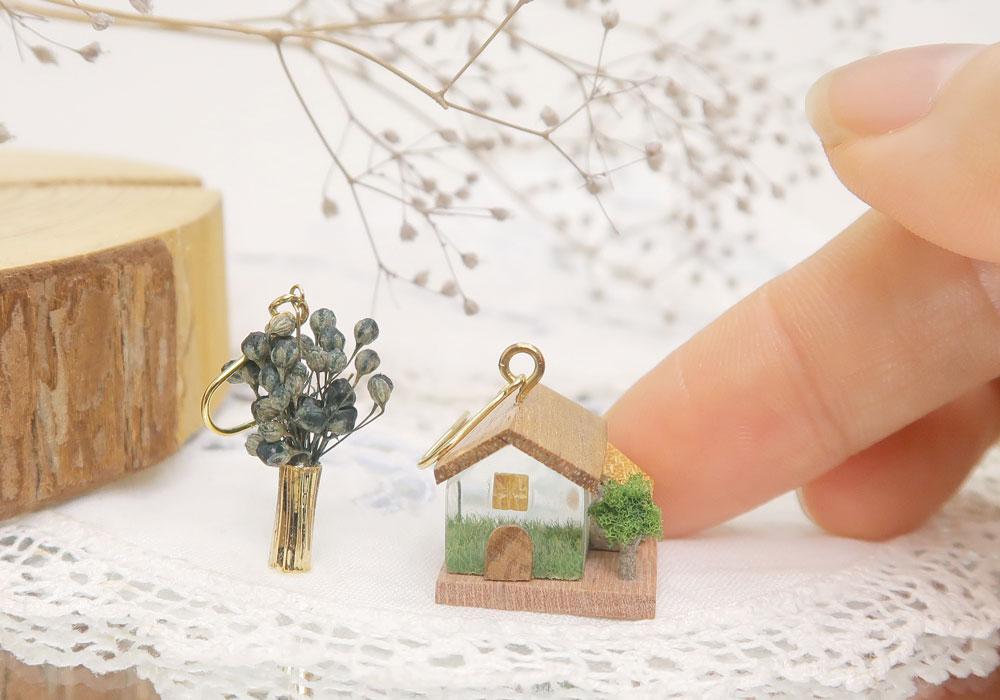 [Ayatorie]小さな家モチーフ
