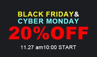 セール情報|BLACK FRIDAY & CYBER MO…