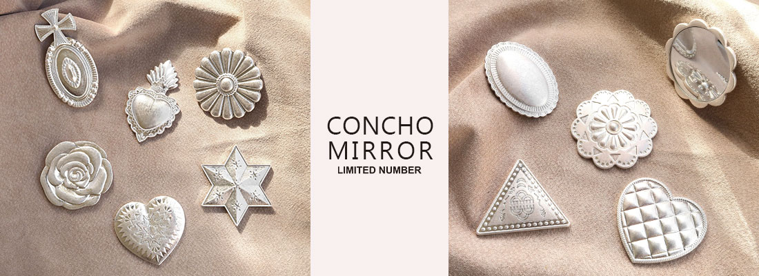 LIMITED NUMBER -CONCHO MIRROR-