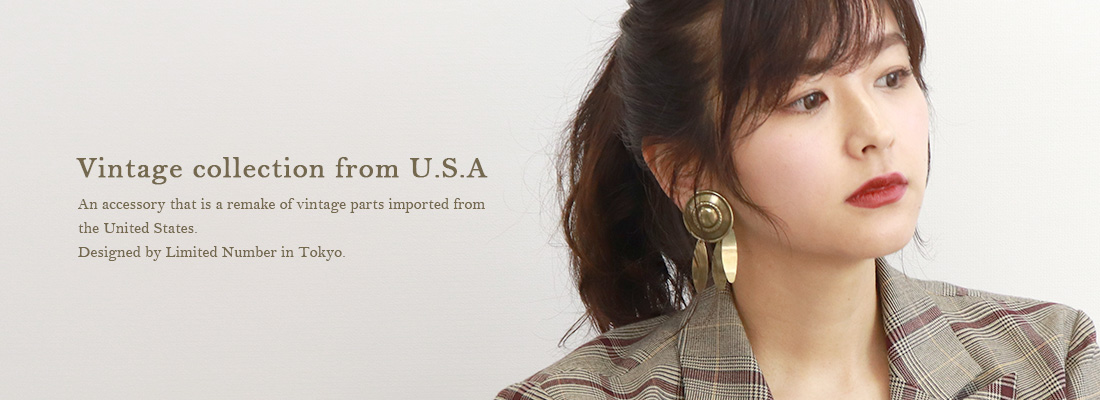 【LIMITED NUMBER】Vintage collection from U.S.A